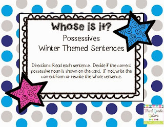 http://www.teacherspayteachers.com/Product/Possessive-Nouns-Winter-Theme-1002347