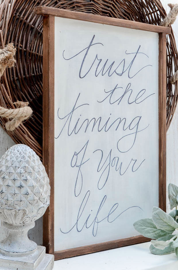 DIY Quote Art  for the wall designed by anderson + grant for Craftberry Bush