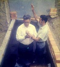 Luis Humberto en su bautizo