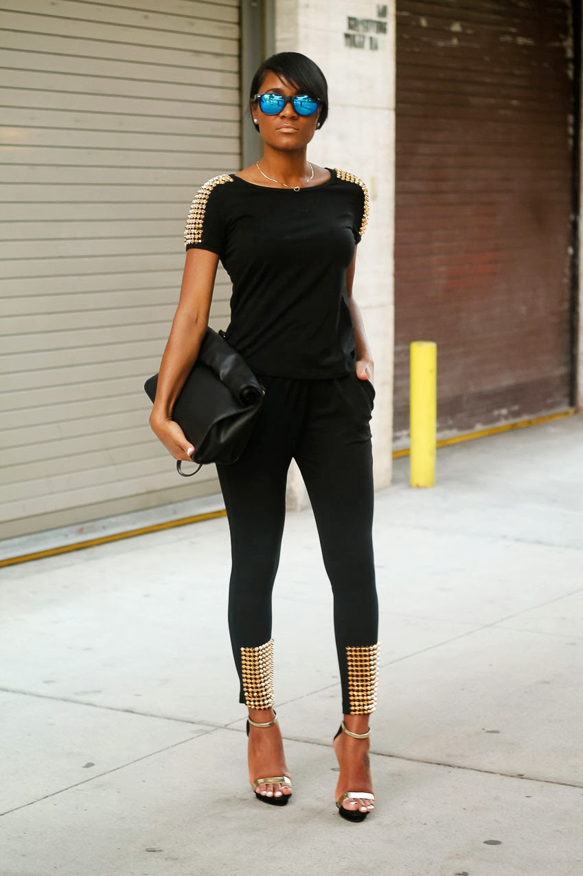 The Daileigh: Black and Gold