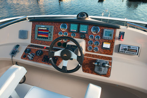 Boat Instrument Panel : Boat gauge panel material