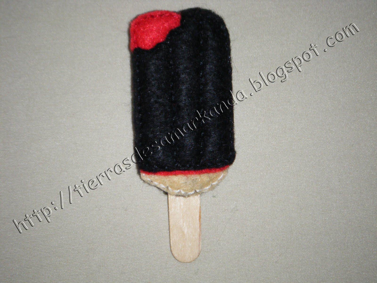 Helado dracula for Samarkanda el tenedor