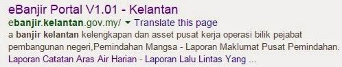 Info Banjir Kelantan | eBanjir