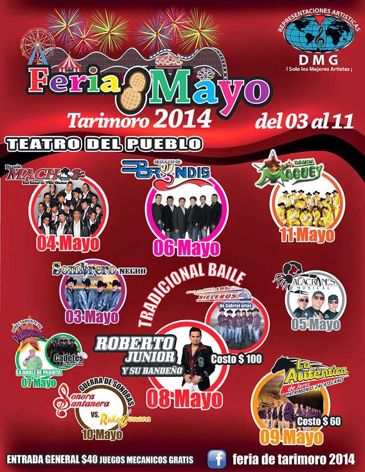 Programa Feria Tarimoro 2014