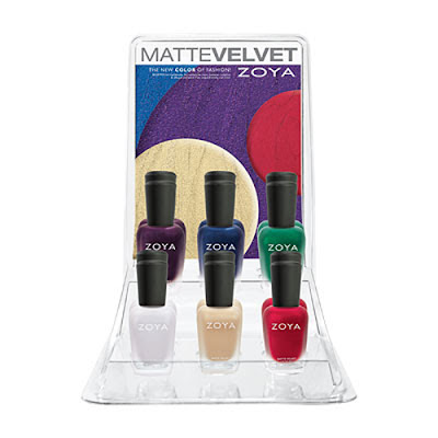 Christmas Gift Guide with the Zoya Matte Velvet Holiday 2015 Collection
