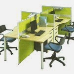 Kantor Partisi Modera Workstation 5-3 Series