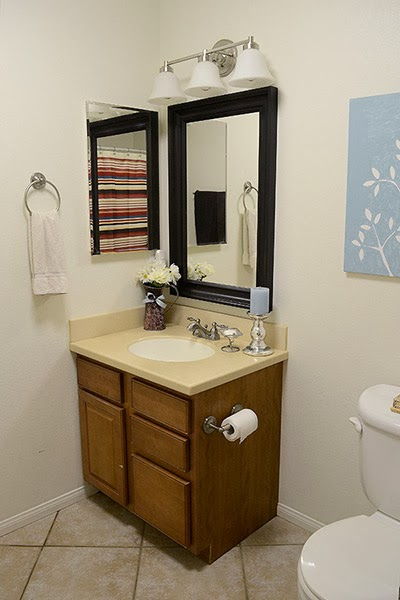 Main Bathroom from Medley of Golden Days Blog