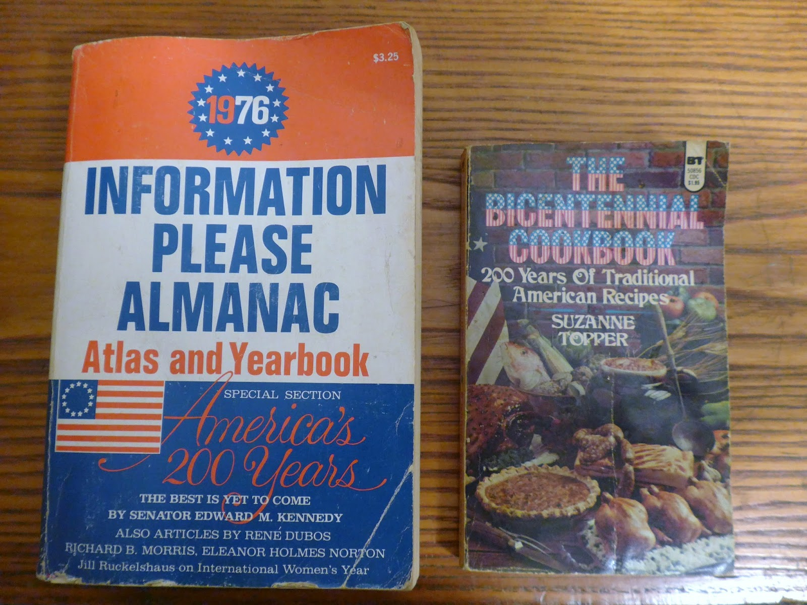Wonderful image of The Information Please Almanac and The Bicentennial Cookbook were  with #204073 color and 1600x1200 pixels