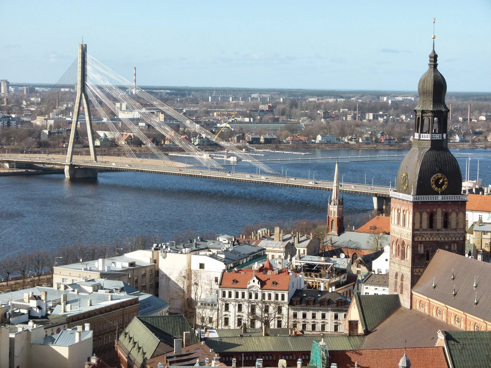 best viewpoints in riga