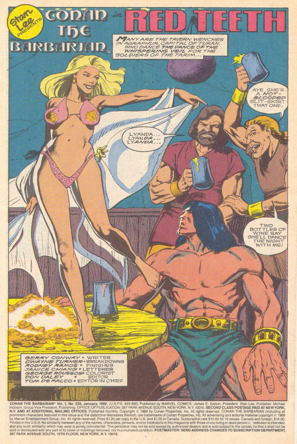 Conan the Barbarian (1970) Issue #228 #240 - English 2