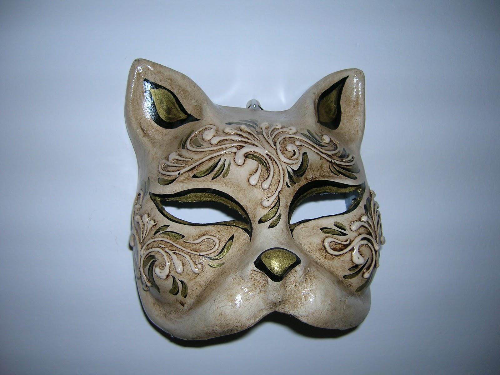 Le maschere di mil perch la maschera del gatto - Pagina colorazione maschera gatto ...