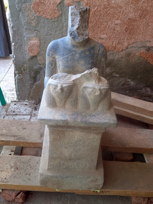Two New Kingdom statues discovered in Egypt
