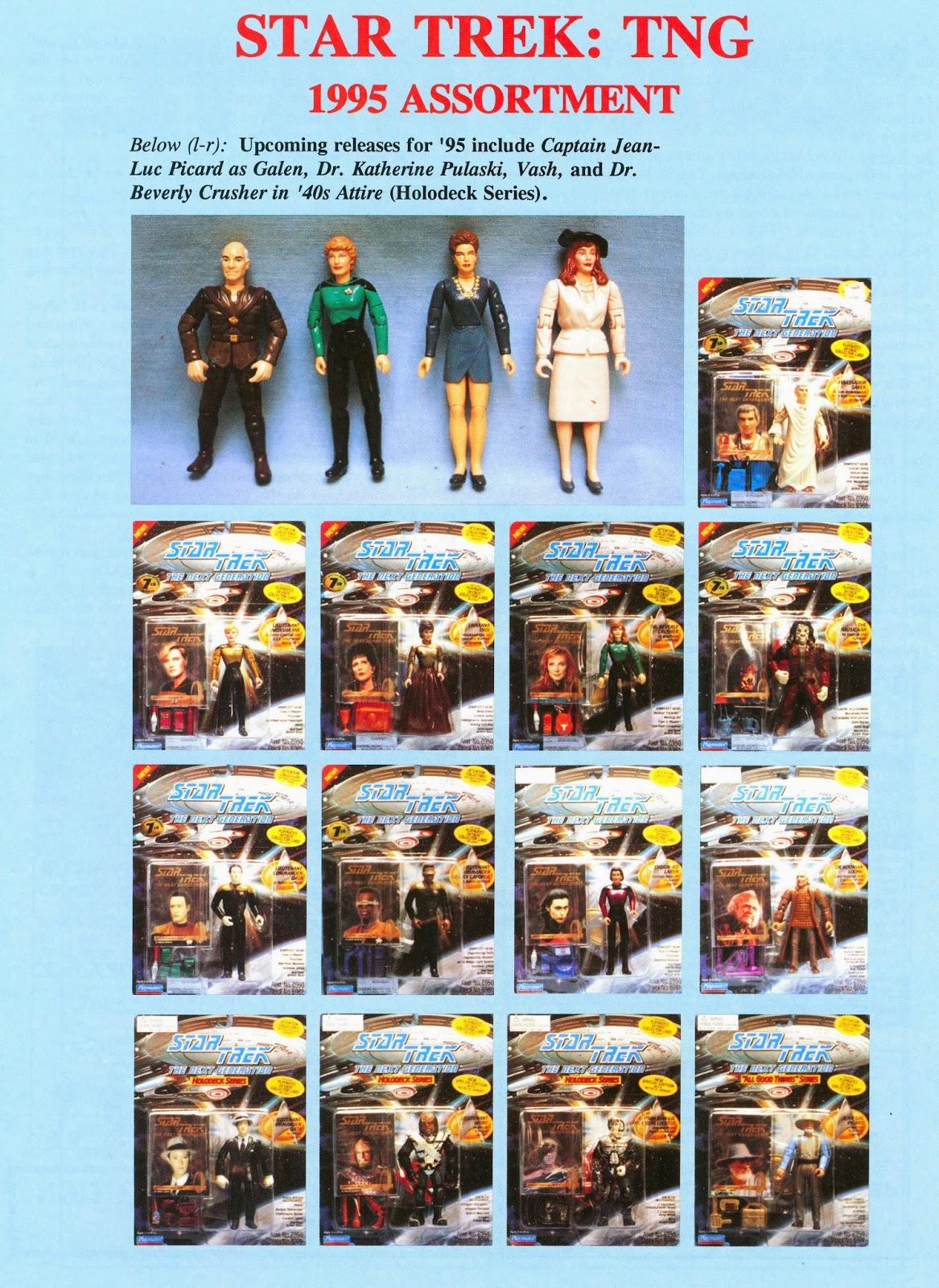 Star Trek The Next Generation Action Figure Playmates