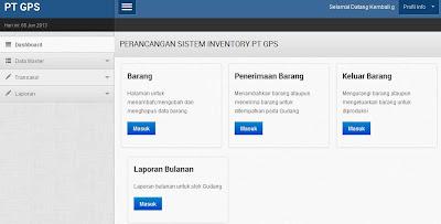 Aplikasi Inventory Bahan Baku Berbasiskan Web