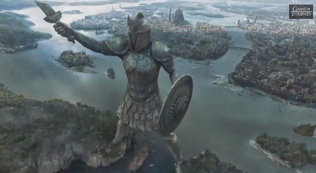 Tercer trailer oficial de la cuarta temporada de Juego de Tronos Titán de Braavos - Juego de Tronos en los siete reinos