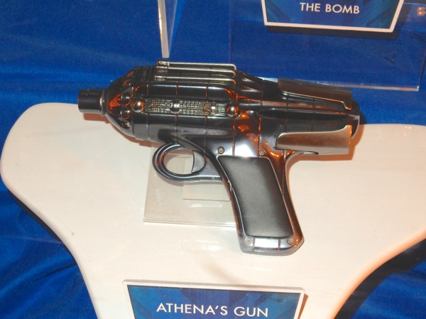 Athena gun Tomorrowland film prop