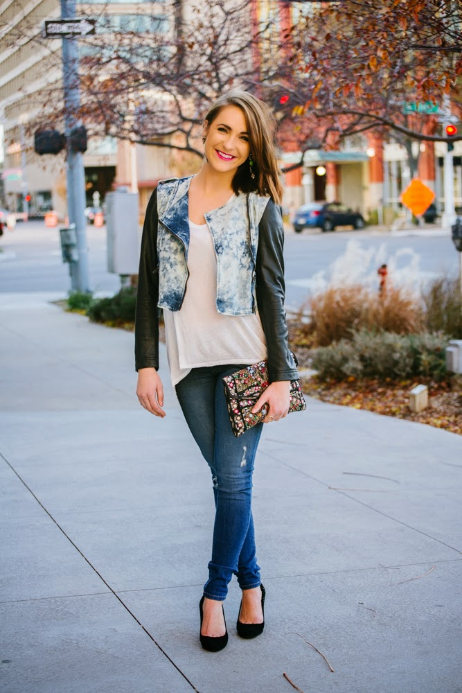 Denim & Leather fashion | In good faith, Tess