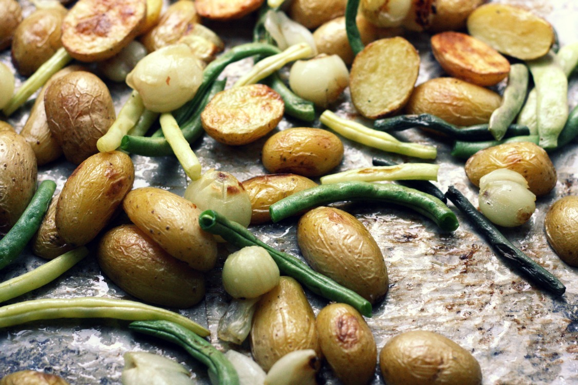 The Vanilla Bean Blog | oven roasted vegetables