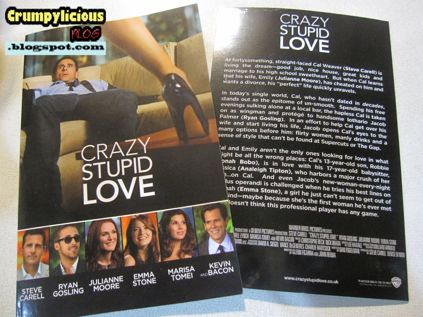 movie review crazy stupid love some reflections