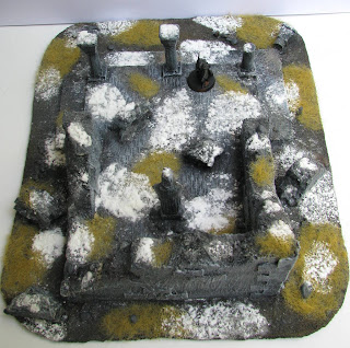 władca pierścieni makieta bitewna świątyni