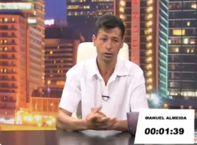 Manuel Almeida e o Dom da oratória