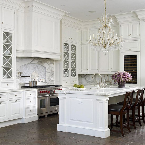I'm Dreaming of a White Kitchen - The Glam Pad on