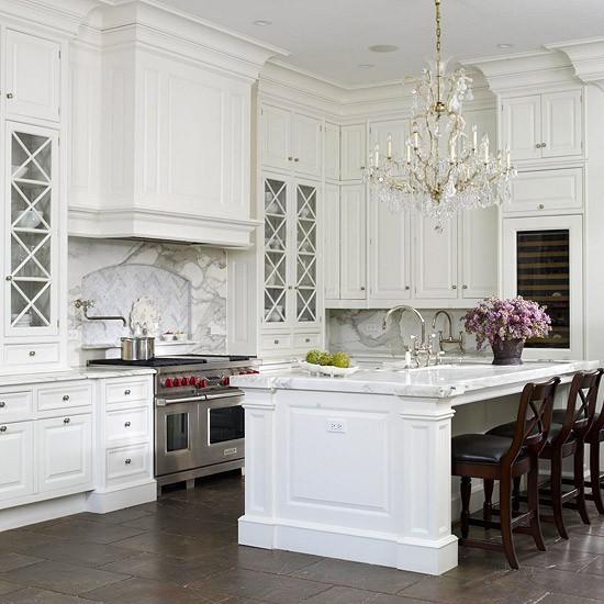 Image Of: Classic White Kitchen Designs photo - 8