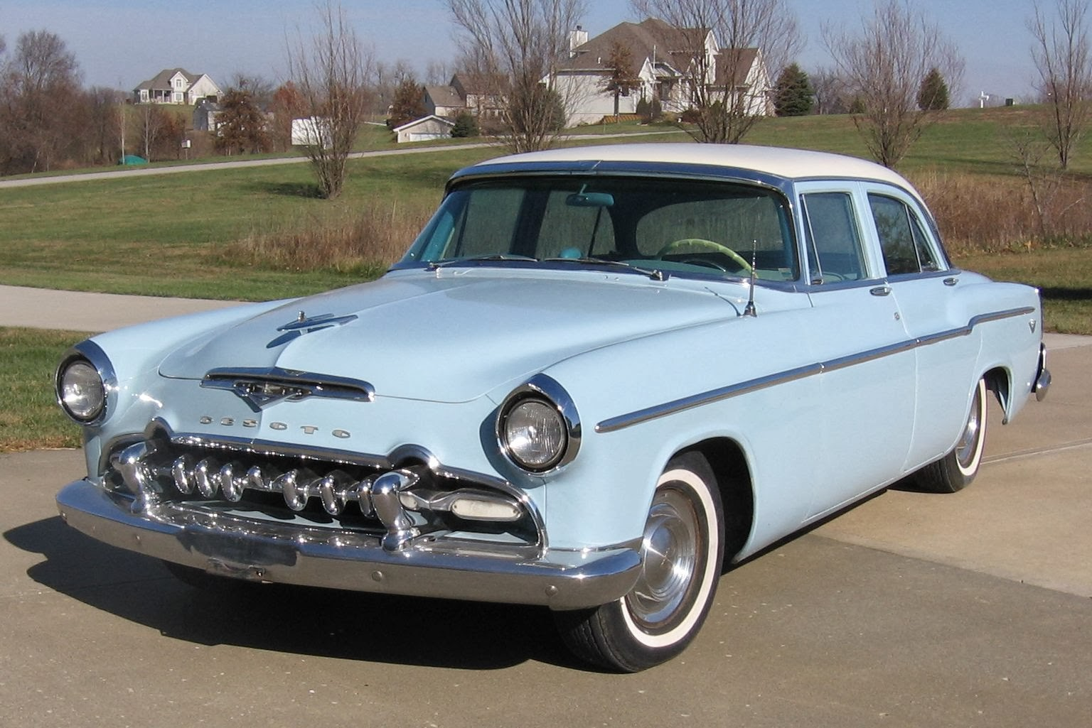Car Style Critic  Desoto  Was The 1955 The Best Ever