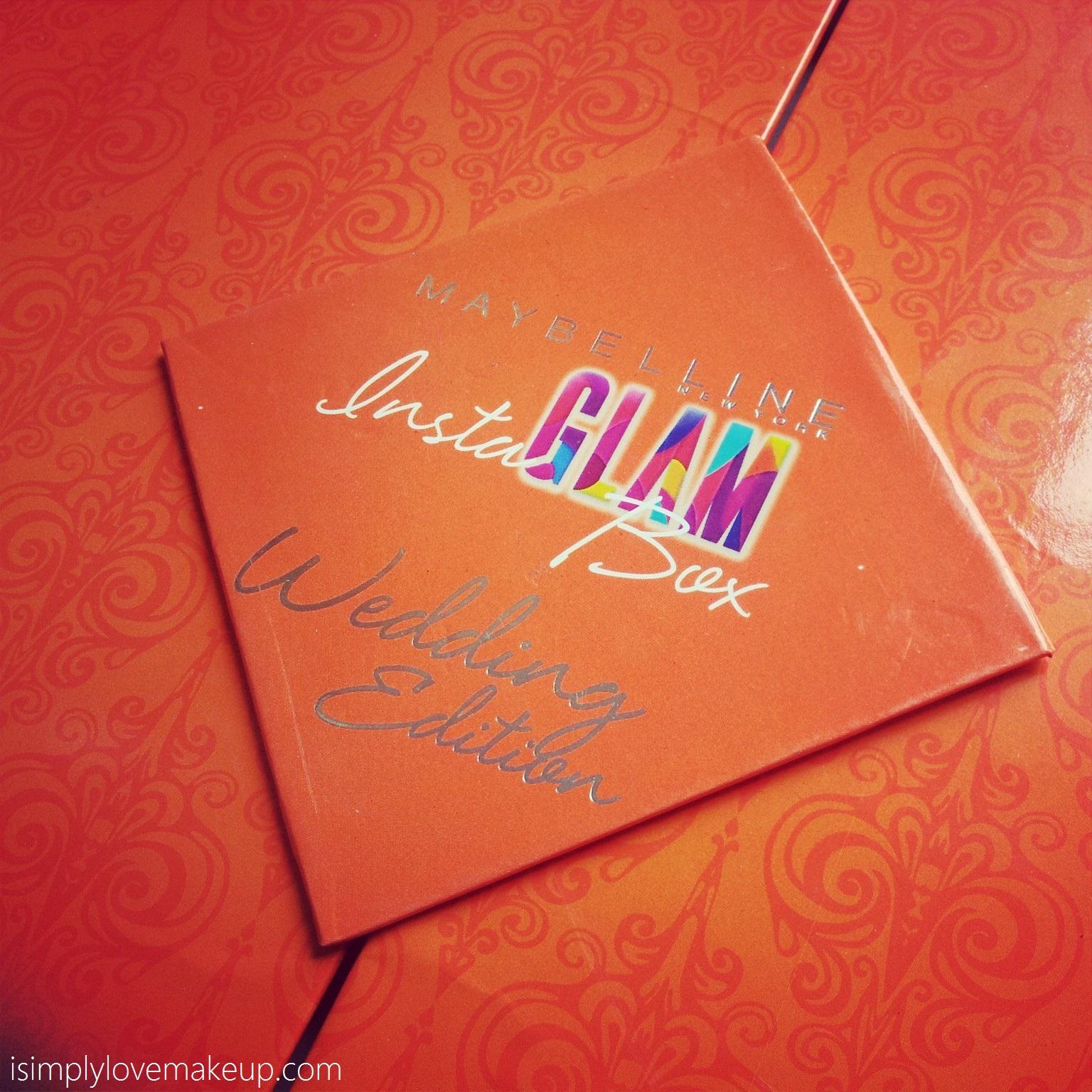 Maybelline Wedding Instaglam Box