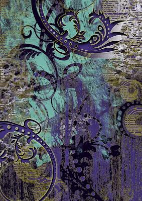 idea for textile design,trend color winter | http://rumputstd.blogspot.com