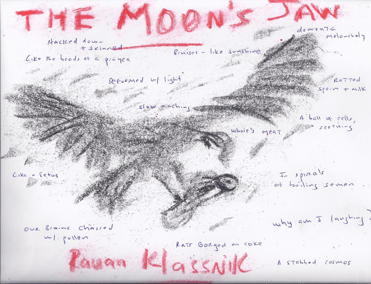 Rauan Klassnik's The Moon's Jaw -- A Book of Prose Poetry (Poems) -- Black Ocean