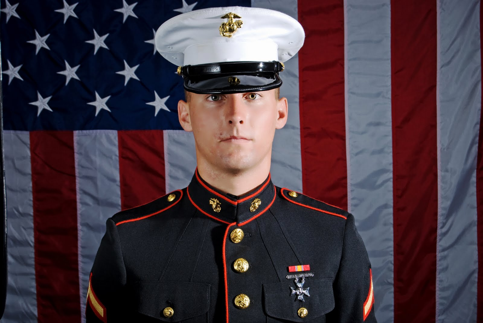 Marine pictures in dress blues