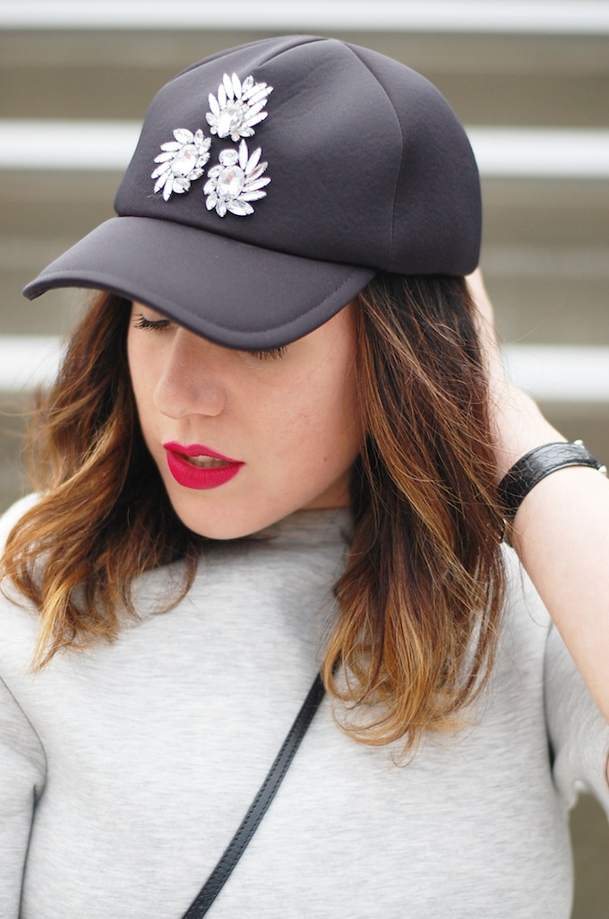 424 Fifth neoprene baseball hat