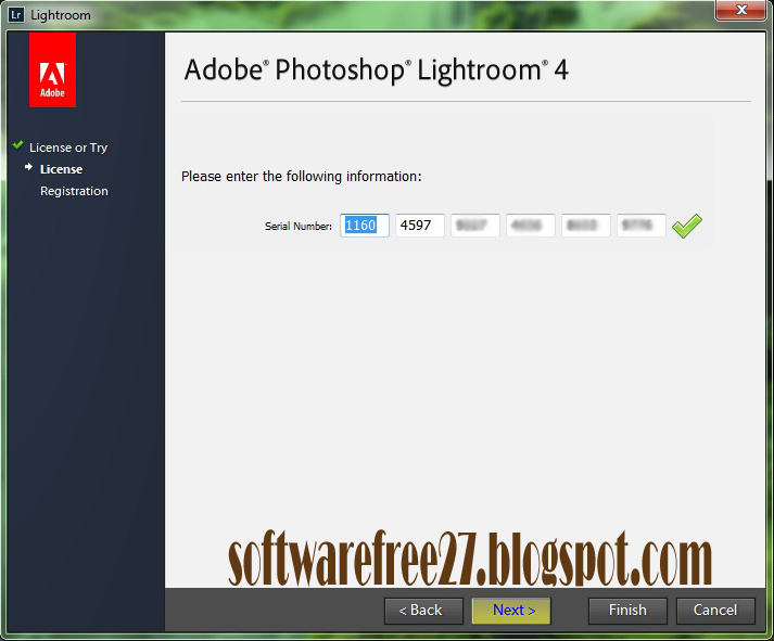adobe photoshop lightroom 4 serial number