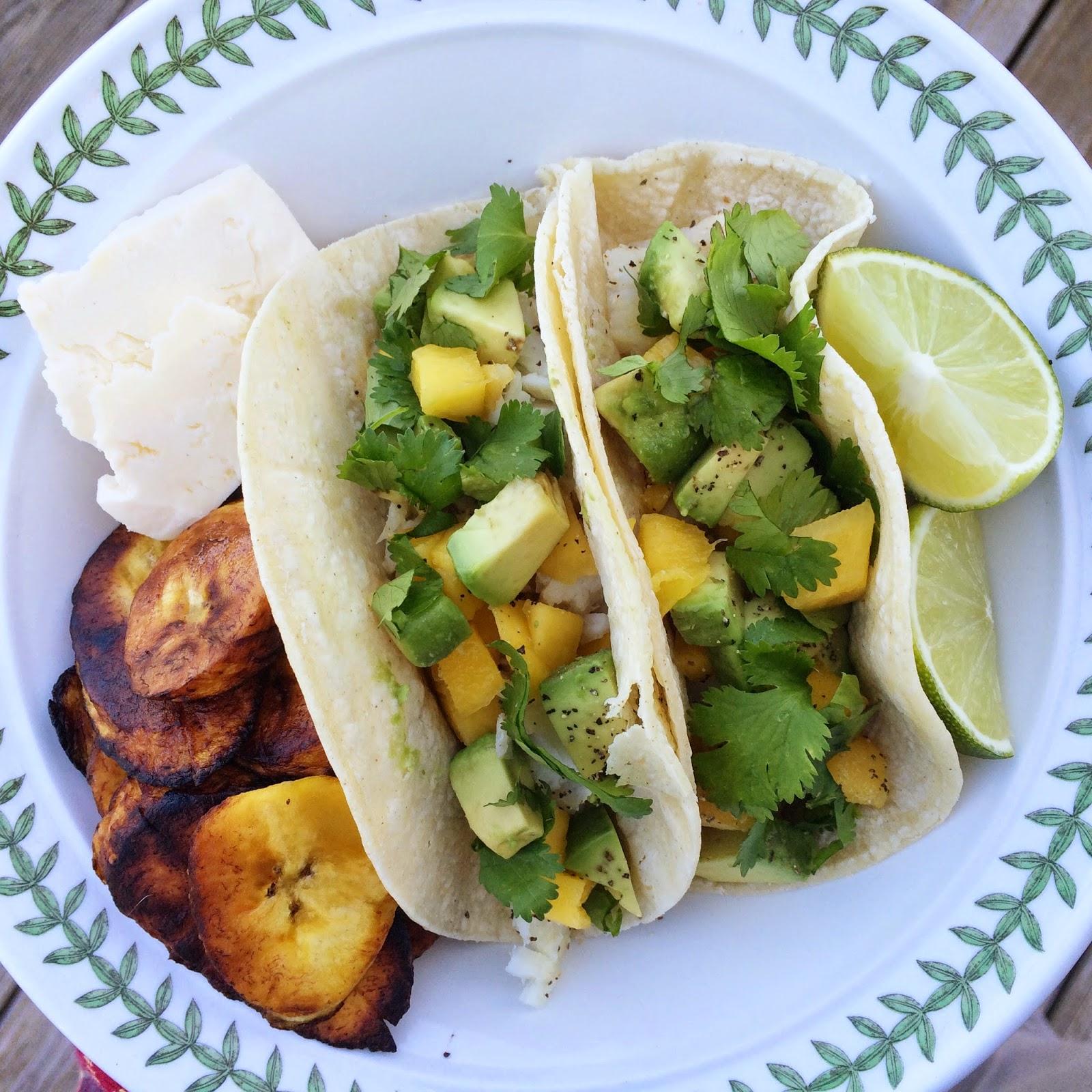 Meanderings menu plan fish tacos for Fish taco menu