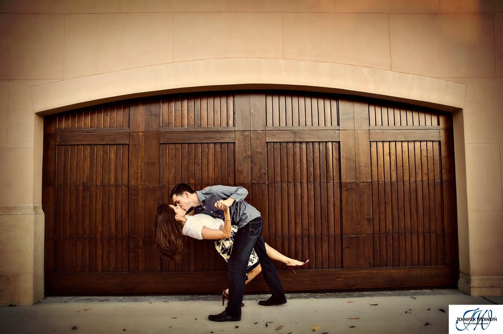 engagement photography in winter park florida and the wine room