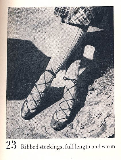 The Vintage Pattern Files Free Knitting Pattern 1940's Ribbed Stockings