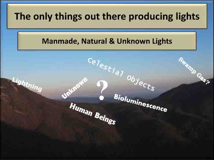 Brown Mountain Lights Explanation