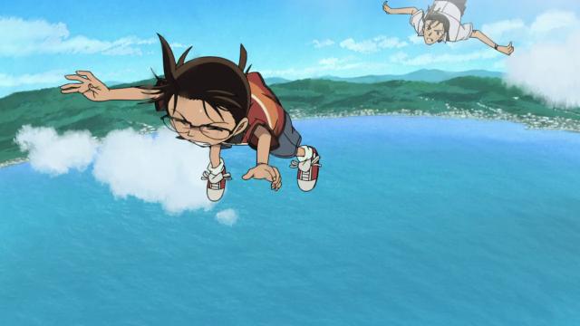 Hình ảnh phim Conan 14: Con Tàu Mắc Cạn Trên Không