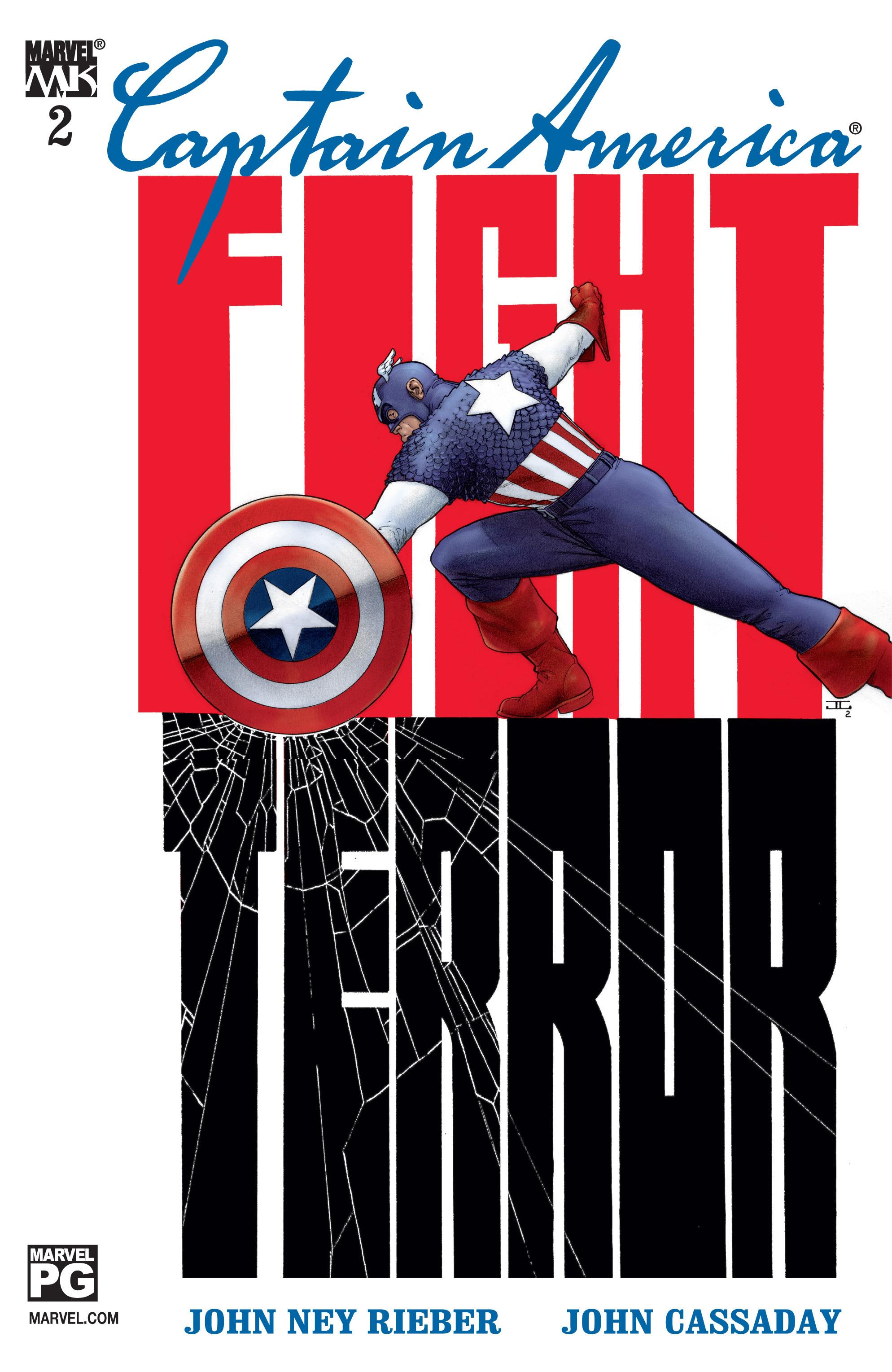 Captain America (2002) Issue #2 #3 - English 1