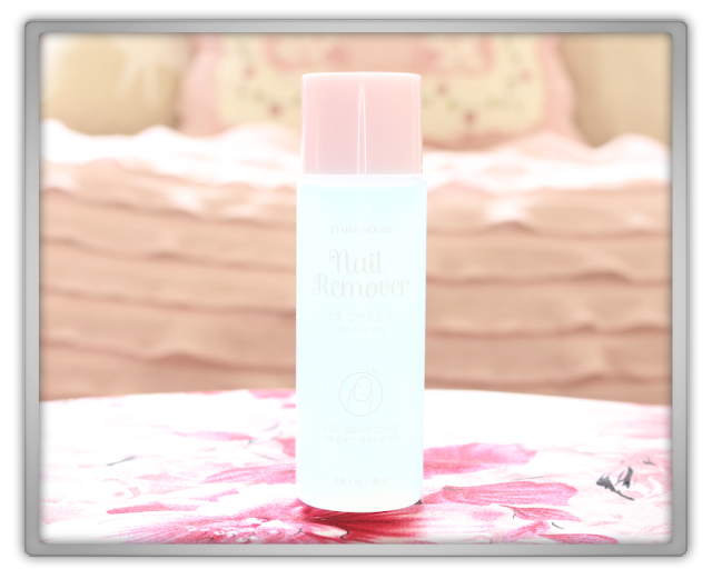 Jolse Etude House korean Haul Review beauty blogger Etude House Nail Remover Extra Power