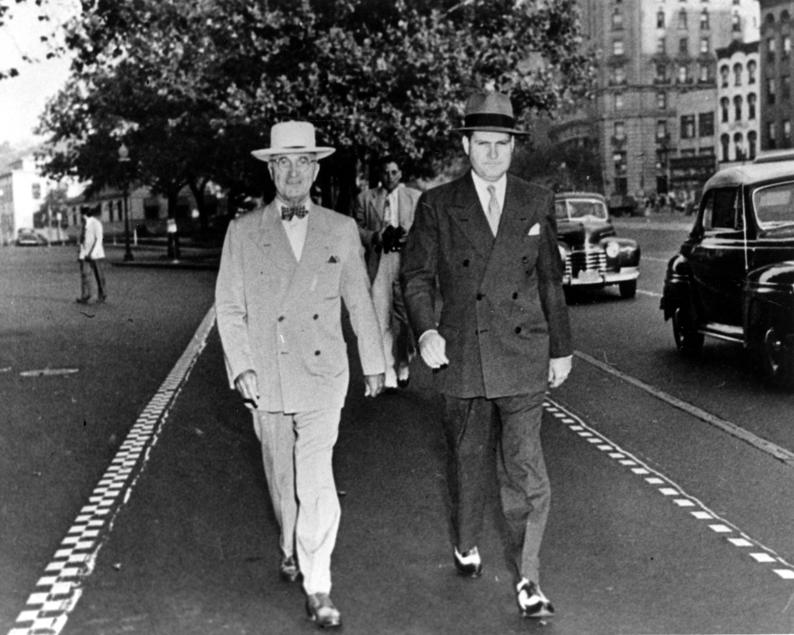 President Truman & SAIC James J Rowley