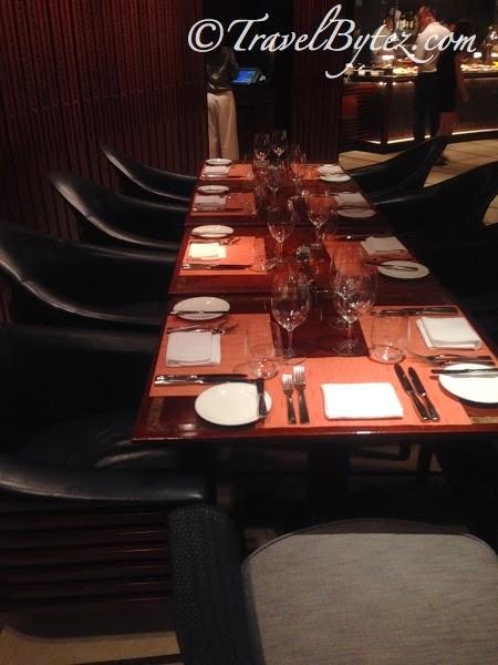 Basilico Table Setting