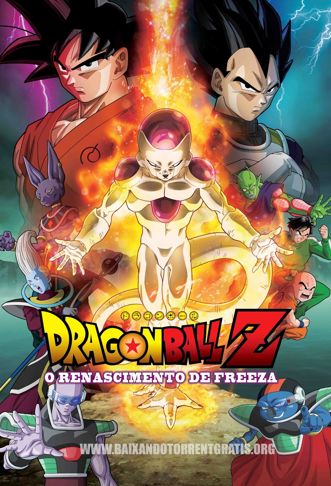 Dragon Ball Z: O Renascimento de Freeza Torrent - BluRay 720p/1080p Dual Áudio