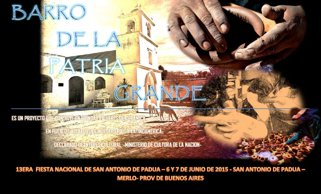 BARRO DE LA PATRIA GRANDE EN LA 14TA FIESTA NACIONAL DE SAN ANTONIO DE PAUA