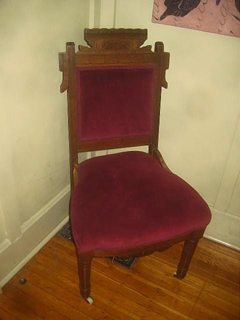 Antique-of-the-Week: The little red chair! - Victorian Antiquities And Design: Antique-of-the-Week: The Little
