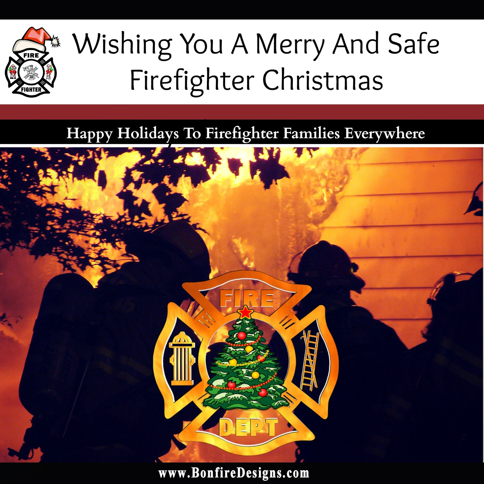 Firefighter Gifts The Brotherhood Bond: Firefighter Christmas Wishes