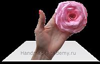 Вы хотите овладеть Уникальной Техникой? Как из ткани сделать поразительные цветы?  жмите