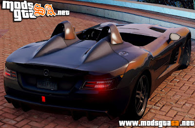V - Mercedes-Benz SLR Stirling Moss para GTA V PC