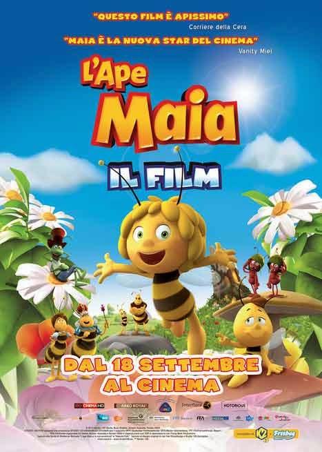 poster L'Ape Maia il film